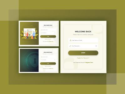 Santa - Login Screen Design santa login