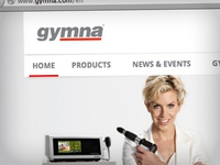 Gymna corporate website