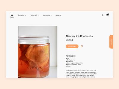 E-commerce #dailyui web minimal typography ux design ui