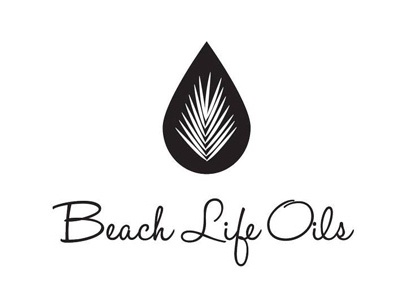 Blo Logo400 design logo oils essential life beach