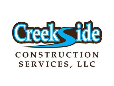 Creeksidelogo400 design logo construction creekside