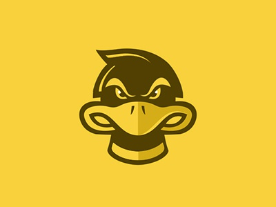Duck Logo angry duck ducks