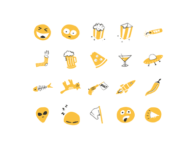 Why so serious? emotions remote interactions social stickers emoji