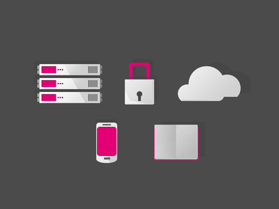 IT product icons icons it technology