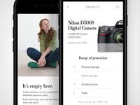Mobile micro–insurance app