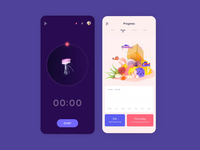 Mobile App - Focus timer