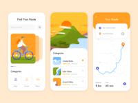 Mobile App - BikeMap