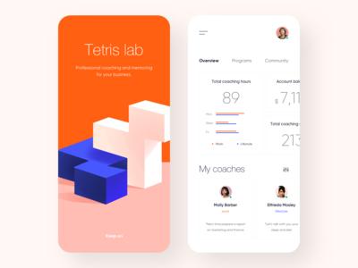 Mobile App - Tetris
