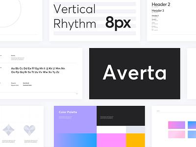 Clover brand guidelines manual typogaphy design guideline identity app brand font visual branding