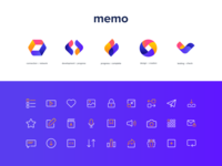MEMO Custom iconography