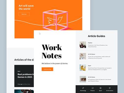 Landing Page - Bavo page design colors website landing web illustration minimal ux ui