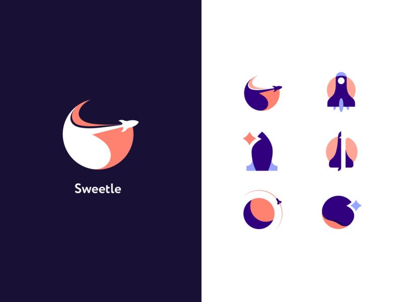 Sweetle logotype illustration logotype brand identity identity design logo brand ux clean ui
