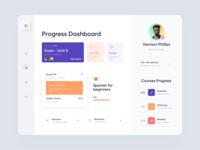 Web App - Panch page dashboard app web minimal design ux colors clean ui