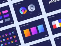 Logo & Brand book - Plaster minimalistic logo design brand design brand identity web minimal clean ui colors icon typography logo branding
