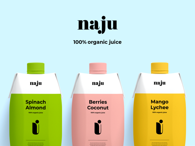 Branding & Packaging - Naju product design identity identity design packaging package design package branding design brand identity brand design clean colors typography branding design