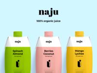 Branding & Packaging - Naju product design identity identity design packaging package design package branding design brand identity brand design clean colors typography branding design