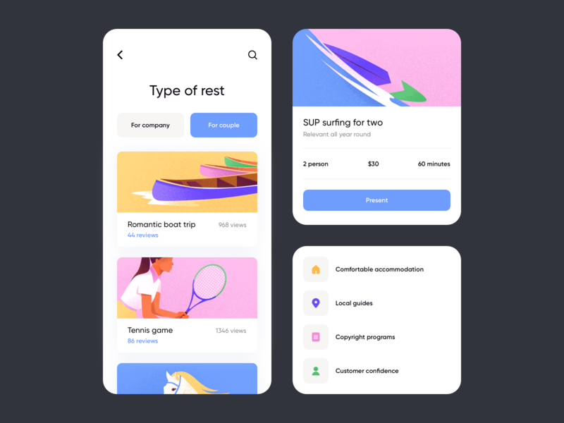 Mobile Application Design Designs Themes Templates And Downloadable Graphic Elements On Dribbble