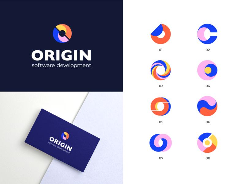 Logo Design - Origin identity branding identity design identity branding concept minimal clean icon typography brand identity branding design brand design branding logotype logodesign logo design logo