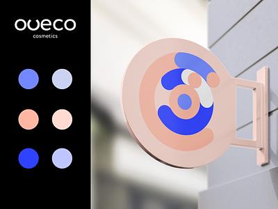 Oveco Cosmetics - Brand Design color palette colors cosmetics design cosmetics banner design banner brand identity minimal typography design typography guidelines brand guidelines brand guideline brand book logodesign logo branding brand design brand