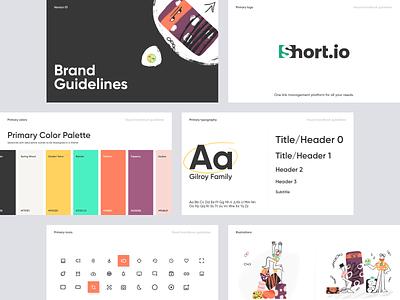 Short.io - Brand Design for Link Manager illustrator logo design illustration colors brand design brand logo graphic design branding ui