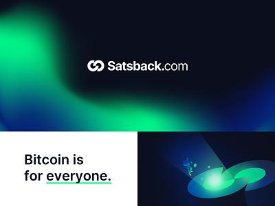 Satsback - Brand Identity for Bitcoin Cashback Service ui brand colors brand book fonts colors gradient graphic design graphic logo design logo branding brand identity brand design brand
