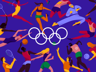 Olympic Games Dribbble.mp4