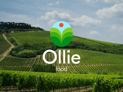 Ollie - Logo Design for Farm Food farm food food branding eco eco food colors graphic design ui brand identity brand design brand branding designbranding logo design logo