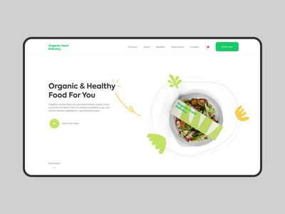 Organic Food Dribbble 01.09.mp4