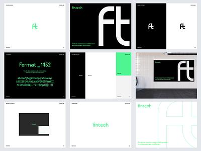 ft - Brand Design for FinTech Company minimal colors ui graphic design fintech logo logo design logo branding brand design brand fintech branding blockchain bitcoin ft fintech