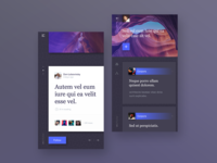 Inspease - social blog app.