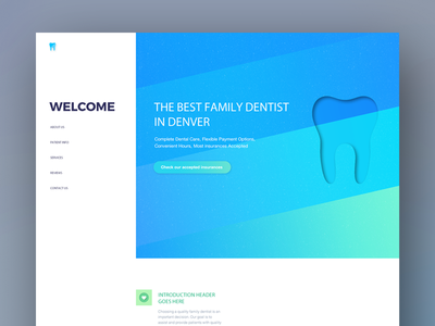 Website for Dentist company