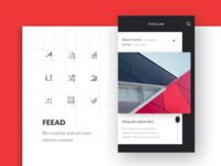 Feead - mobile app