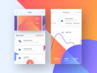 Xibank - mobile screens