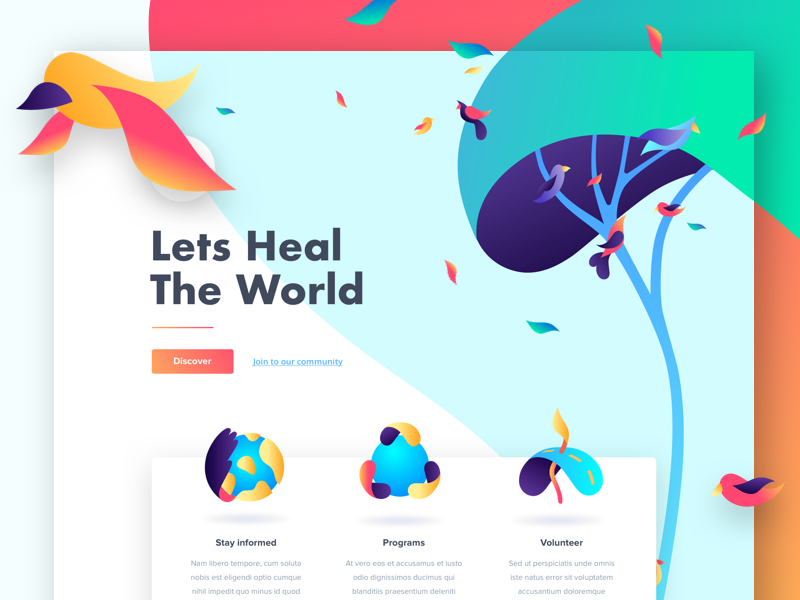 Environmental Protection - Landing Page
