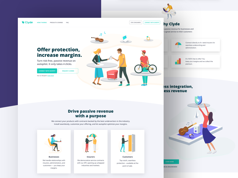 Clyde - Landing Page