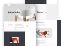 Furniture - Landing Page