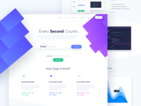 Second - Landing Page