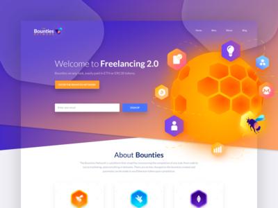 Bounties - Landing Page