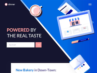 Dinner - Landing Page