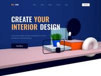Interior Design - Landing Page