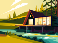River illustration