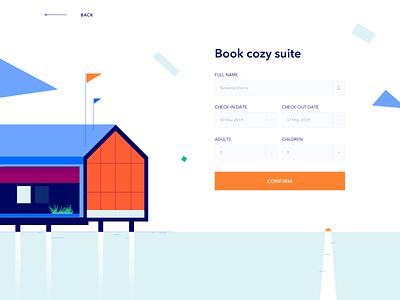BirchWood - Landing Page animation website minimal design illustration web landing ui colors clean