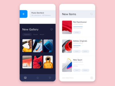 Mobile app - Online shopping