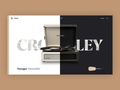 Web Design - Crosley