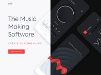 Mobile application - Music making soft