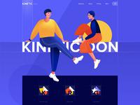 Landing page - Kinetic
