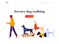 Landing page - Puppy
