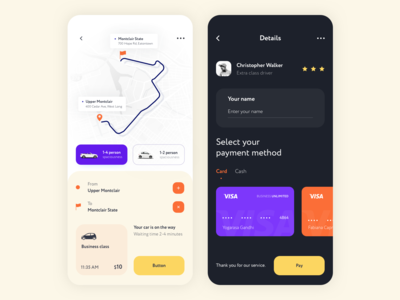 Mobile app - TaxiApp