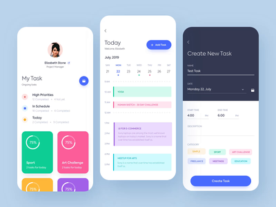 Mobile application -  Task planner