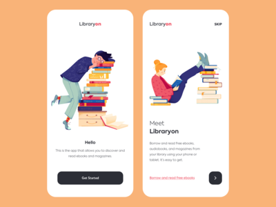 Mobile app - LibraryOn